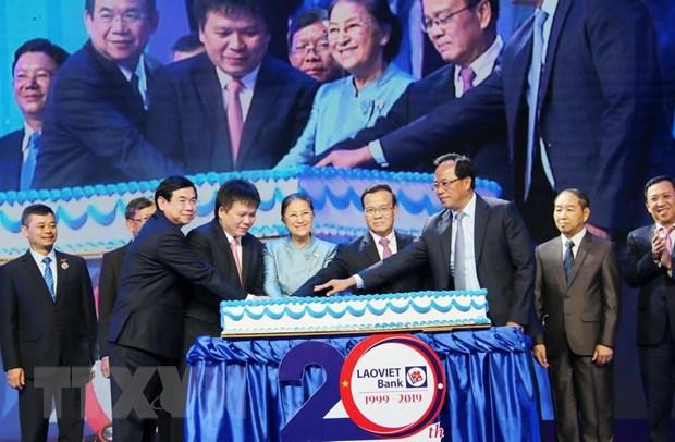 LaoVietBank - cau noi hop tac kinh te giua Viet Nam va Lao hinh anh 1