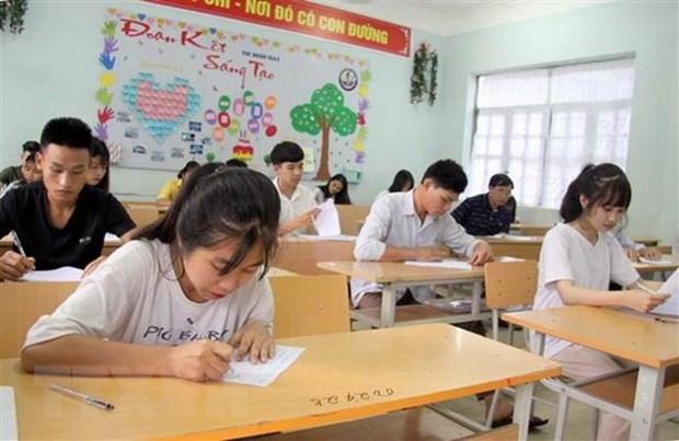 Bo Giao duc va Dao tao cong bo dap an chinh thuc mon Ngu van PTTH hinh anh 1
