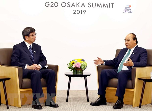 G20: Thu tuong Nguyen Xuan Phuc gap go cac nha lanh dao the gioi hinh anh 2