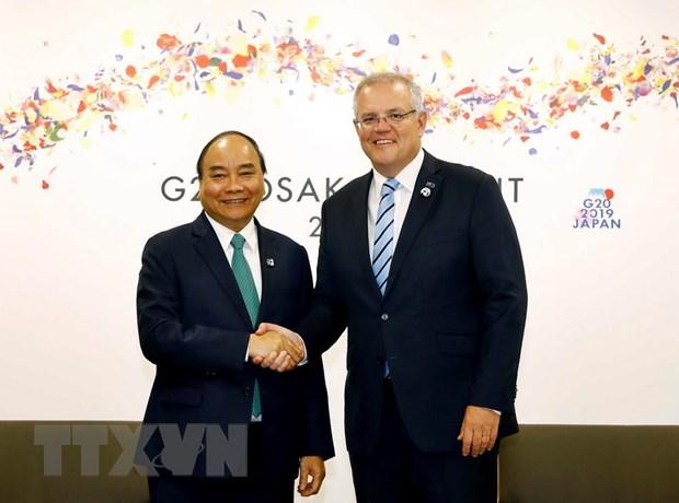 G20: Thu tuong Nguyen Xuan Phuc gap go cac nha lanh dao the gioi hinh anh 1