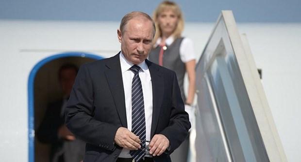 Tong thong Nga Vladimir Putin bat dau tham Italy va Vatican hinh anh 1
