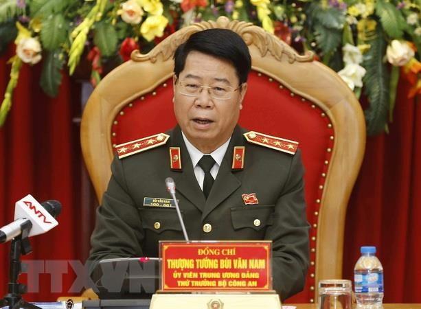 Thu tuong Lao tiep than mat Doan Bo Cong an Viet Nam hinh anh 1