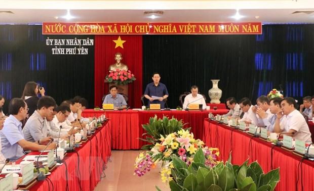 Ra soat ve kien nghi co che dac thu cho Khu Kinh te Nam Phu Yen hinh anh 1