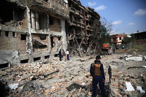 Afghanistan: No tai thu do Kabul sau khi noi lai dam phan moi o Doha hinh anh 1