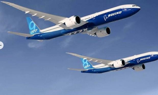 Tap doan Boeing hoan ban giao dong may bay than rong 777-8 hinh anh 1