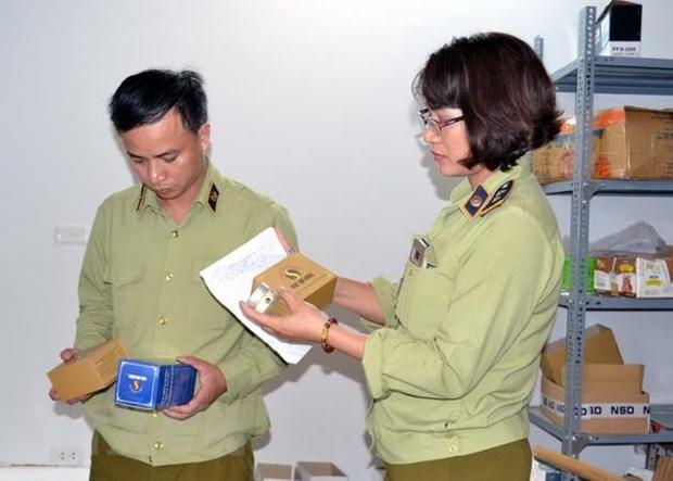 TP Ho Chi Minh: Thu giu 3 tan thuc pham chuc nang khong dat tieu chuan hinh anh 1