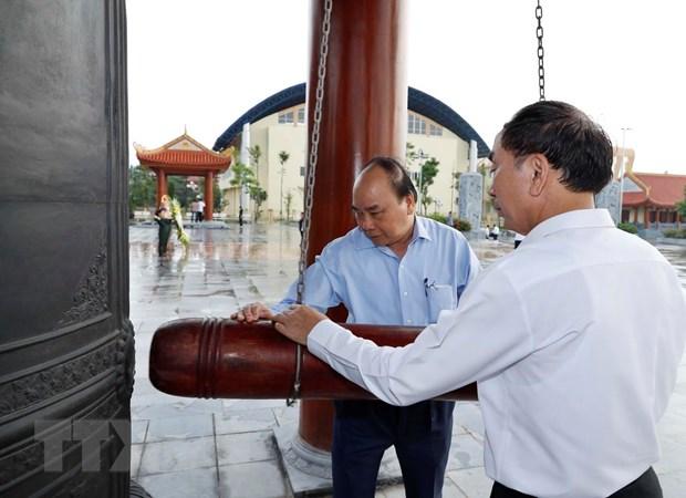 Thu tuong Nguyen Xuan Phuc lam viec tai Bac Kan va Thai Nguyen hinh anh 1