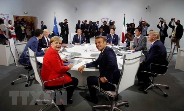 G7: Cam ket ung pho voi rui ro suy giam kinh te toan cau hinh anh 1