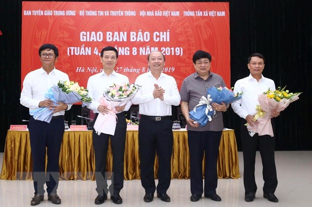 Bao chi co su menh khoi day khat vong ve mot Viet Nam hung cuong hinh anh 1