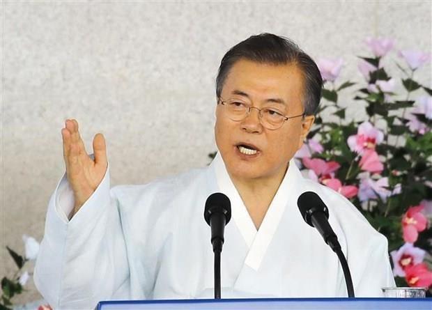 Tong thong Han Quoc cong bo