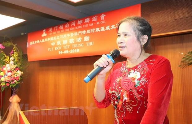Cong dong nguoi Viet Nam tai Macau vui Tet Trung Thu hinh anh 1