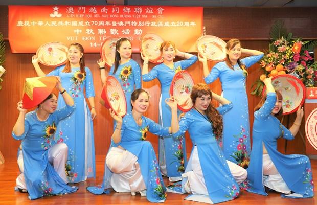 Cong dong nguoi Viet Nam tai Macau vui Tet Trung Thu hinh anh 2
