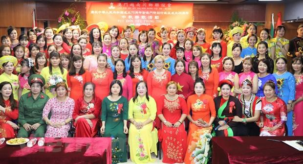 Cong dong nguoi Viet Nam tai Macau vui Tet Trung Thu hinh anh 3
