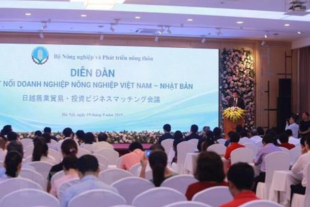 Dien dan ket noi doanh nghiep nong nghiep Viet Nam-Nhat Ban hinh anh 1