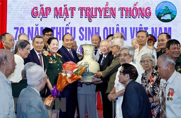 Thu tuong du Ky niem 70 nam thanh lap Truong Thieu sinh quan Viet Nam hinh anh 1