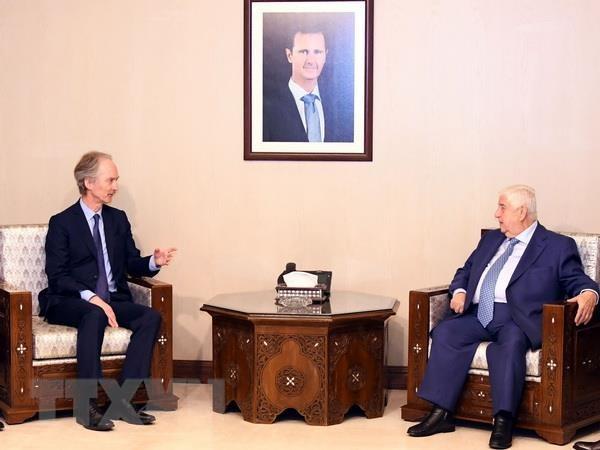 Dac phai vien Lien hop quoc gap Ngoai truong Syria al-Moallem hinh anh 1