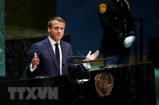 Ong Macron hy vong giai doan moi trong giai quyet tinh hinh o Ukraine hinh anh 1