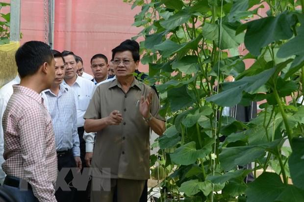 Thu tuong Lao ket thuc chuyen tham chinh thuc Viet Nam hinh anh 1