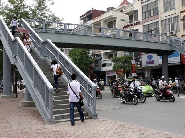 Ha Noi sap xay them 4 cau vuot di bo va cau qua Ho Linh Dam hinh anh 1