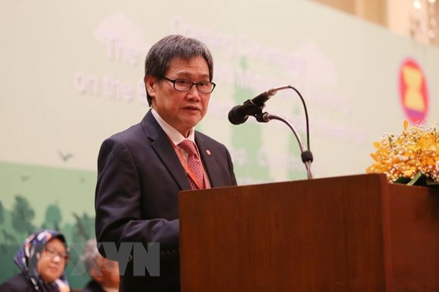 Trien lam ve thanh qua ASEAN-Nhat Ban trong xay dung co so ha tang hinh anh 1