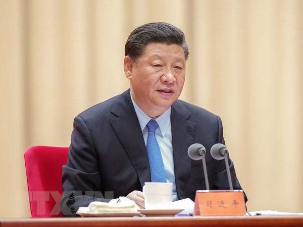 Trung Quoc: Hoi nghi BCT thao luan van kien trinh len Hoi nghi TW 4 hinh anh 1