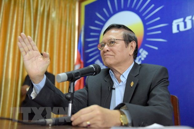 Ông Kem Sokha. Ảnh: AFP/TTXVN
