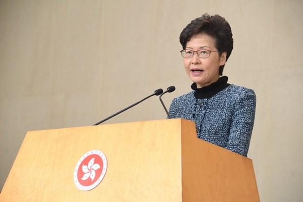 Trung Quoc: Chinh quyen Hong Kong len an nguoi bieu tinh qua khich hinh anh 1