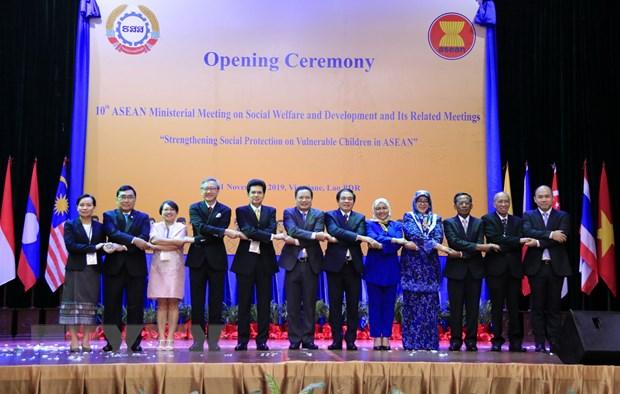 ASEAN tang cuong an sinh xa hoi cho nhung tre em de bi ton thuong hinh anh 1