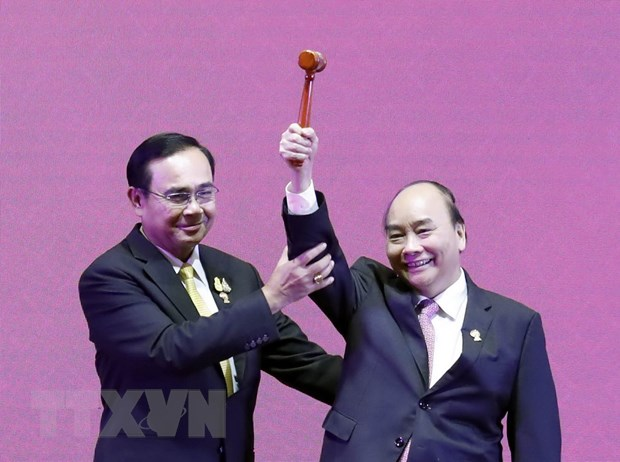 Thu tuong tra loi phong van bao chi nhan du hoi nghi ASEAN-Han Quoc hinh anh 3