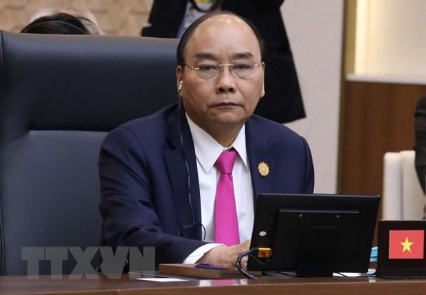 Thu tuong du Phien hop dau cua Hoi nghi Cap cao ASEAN-Han Quoc hinh anh 1