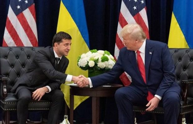 My dong bang vien tro cho Ukraine sau dien dam cua 2 tong thong hinh anh 1