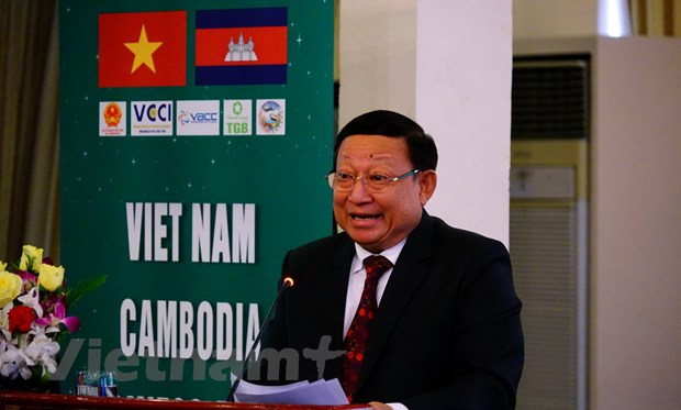 Doanh nghiep DBSCL du dien dan hop tac kinh doanh tai Campuchia hinh anh 1