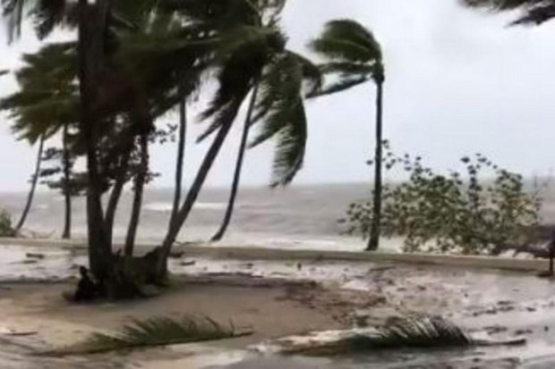 Gan 2.000 nguoi tai Fiji phai di so tan tranh bao Sarai hinh anh 1
