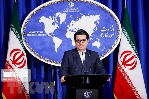 Người phát ngôn của Bộ Ngoại giao Iran Abbas Mousavi. Ảnh: IRNA/TTXVN