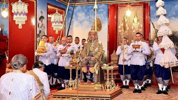 Quan doi Thai Lan lan dau tien dieu binh truoc Nha vua Maha Vajiralong hinh anh 1