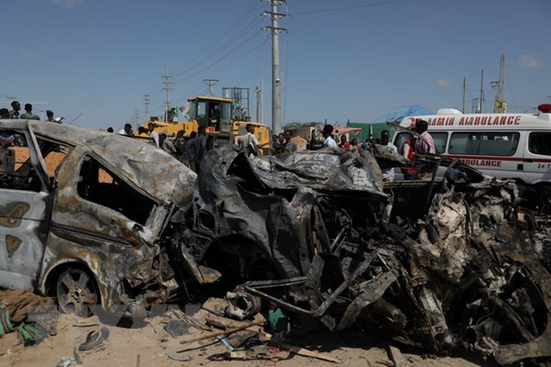 Khung bo al-Shabab nhan gay ra vu danh bom lieu chet o Somalia hinh anh 1
