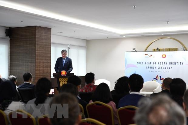 Phat dong Nam Ban sac ASEAN 2020, trao giai Cuoc thi Thiet ke logo hinh anh 1