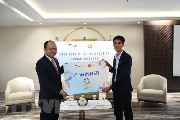 Phat dong Nam Ban sac ASEAN 2020, trao giai Cuoc thi Thiet ke logo hinh anh 3