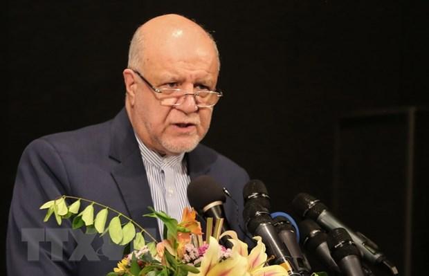 Iran tan thanh de nghi cat giam them san luong dau cua OPEC hinh anh 1