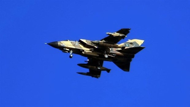 Chien dau co Tornado cua Saudi Arabia bi roi tai Yemen hinh anh 1