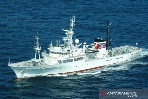 Nhat Ban ban giao tau tuan tra Hakurei Maru cho Indonesia hinh anh 1