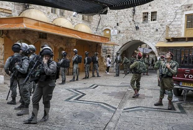 An ninh Israel tieu diet doi tuong tinh nghi tan cong bang dao hinh anh 1