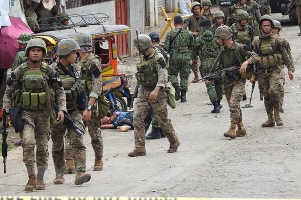 Nhieu binh sy Philippines thiet mang do bi phien quan phuc kich hinh anh 1