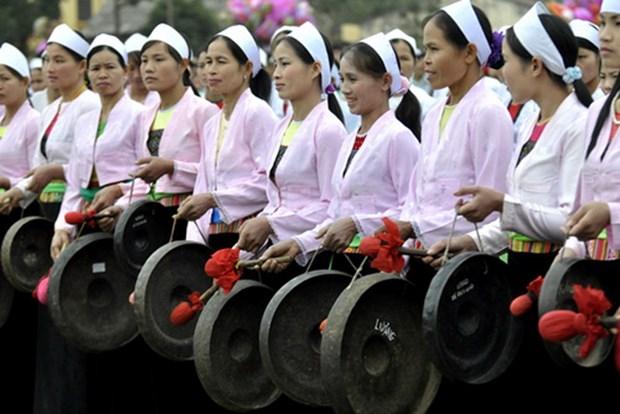 Phu Tho: Bao ton, phat huy gia tri van hoa dan toc Muong o Thanh Son hinh anh 1