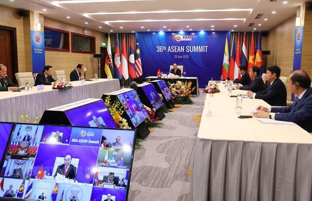 ASEAN 2020: Khai mac Hoi nghi Cap cao ASEAN lan thu 36 hinh anh 1