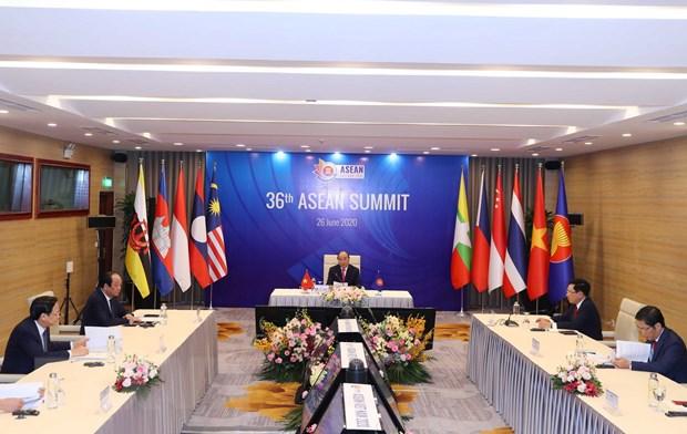 ASEAN 2020: Khai mac Hoi nghi Cap cao ASEAN lan thu 36 hinh anh 2
