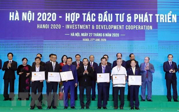 "Thu tuong du Hoi nghi ""Ha Noi 2020-Hop tac Dau tu va Phat trien"" hinh anh 1"