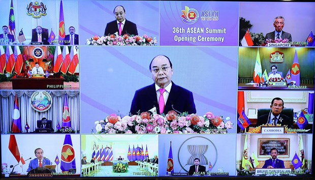Tom tat Tuyen bo cua Chu tich Hoi nghi Cap cao ASEAN lan thu 36 hinh anh 1