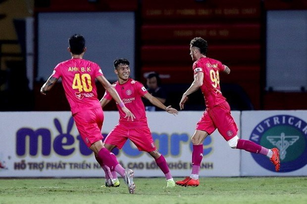 Ha Hai Phong, Sai Gon FC leo len ngoi dau voi thanh tich bat bai hinh anh 1