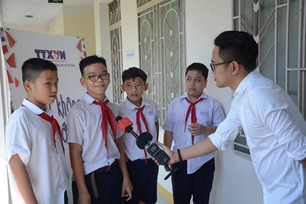 """Chuong trinh """"Noi khong voi Fake News"""" den voi hoc sinh Da Nang hinh anh 2"""